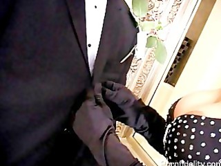 angelina valentine gold digging doxy bride