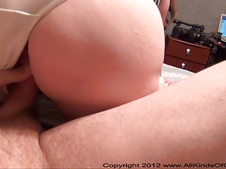 big tit anal mommy gets ball gagged &; booty