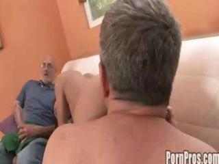 Amia moretti - grandpa cock suck