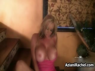 breasty blonde milf goes mad riding part6