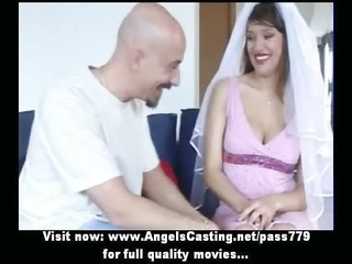 awesome sexy brunette hair bride ravishing