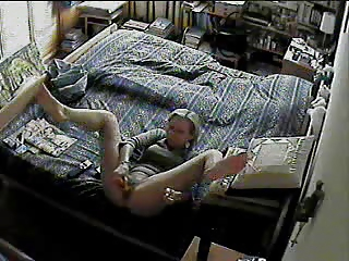 spy webcam below wife