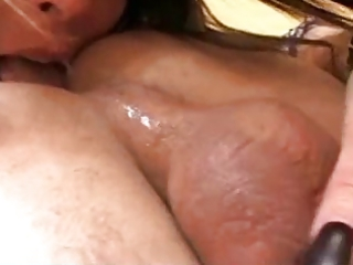 bawdy mature takes care of my arse and cock by