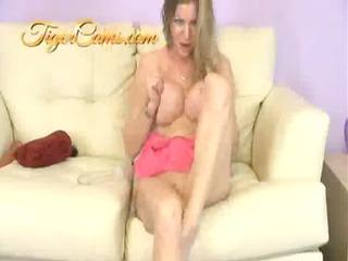 Big Tits Mature Pornstar Amber Michaels