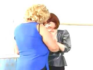 breasty german matures in a hard group fuck