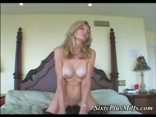 darksome dong in white granny cum-hole
