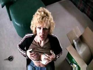 golden-haired mother i gives a great pov oral-job