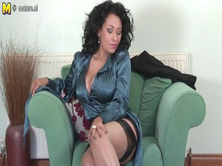 Hawt British mother Id like to fuck playing with