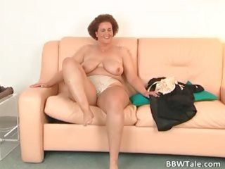 obese milf feeling moist and lustful during part0