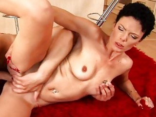 older lady fucked hard from behind