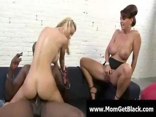 large tit hot milfs enjoy dark cockhard and