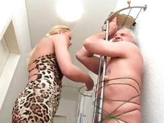 amateur blond older tugjob