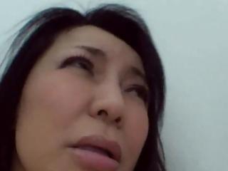 52yr old granny yukari kirishima creamed