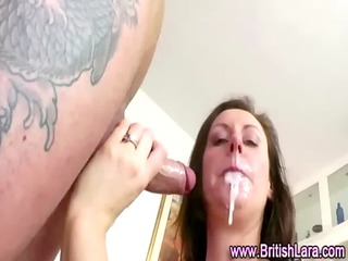 aged british lady in hose screwed and jizzed