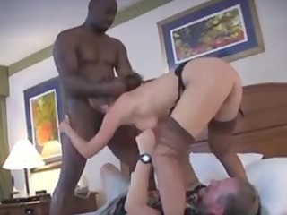 wife receives a tag team-implacable boner