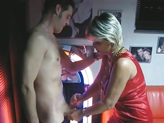 aged makes cook jerking and blowjob at the