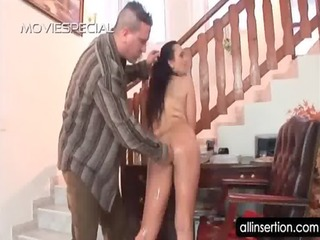 aged bitch in hairy vagina acquires butt toyed