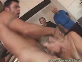 older wife enjoyed a wild sex with a pornstar