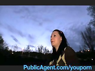 publicagent sara masturbates and bonks on camera