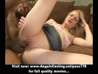 virginal golden-haired screwed hard and from