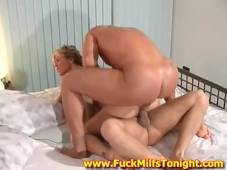 sexy milf is cheating her husband with 7 paramours