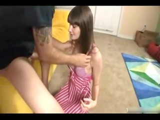 sexy sister jerks brother for specie