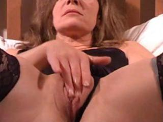 mature wife is getting filmed by hubby rubbing