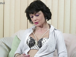 perverted british mother working her slit