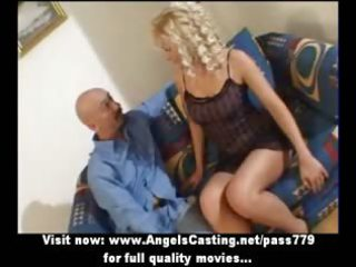 sexy golden-haired d like to fuck as bride does
