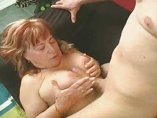obese granny bonks