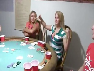 young girls sex on poker night