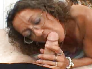 candi the milf acquires facial