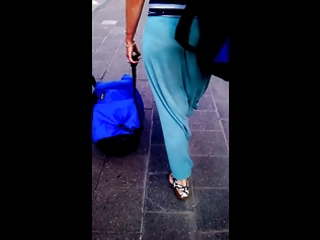 see-through pants blonde mother i