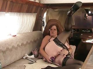 bbw granny copulates booty