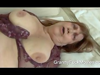 This is one fat and horny granny who wants some