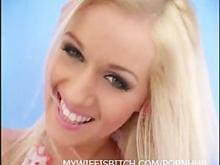 golden-haired milf on cam