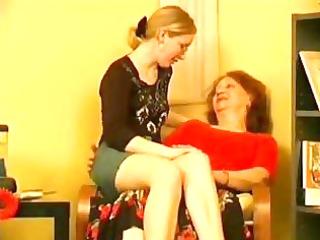 horny granny taking advantage of her pretty
