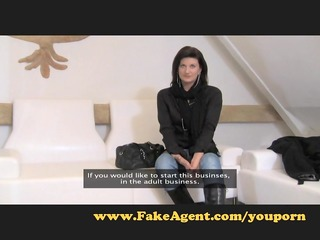 FakeAgent Hot MILF needs cock.