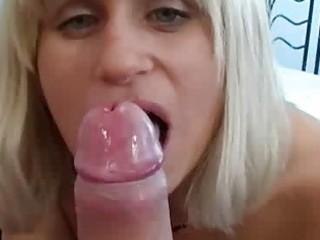 shy wife sucks her boyfriends pounder for him on