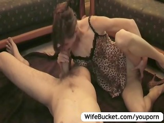wife takes a worthwhile care of hubby