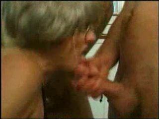 grand mom trys gangbang with several young boyz