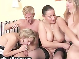experienced housewives massaging part9