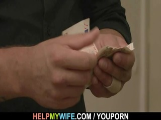 old guy pays him to fuck his juvenile wife