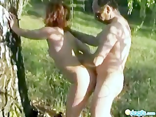 olyas outdoor sex tape