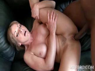 cunt fuck with hot mother i and darksome dude