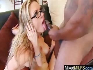 milf receive bang hard by darksome big jock