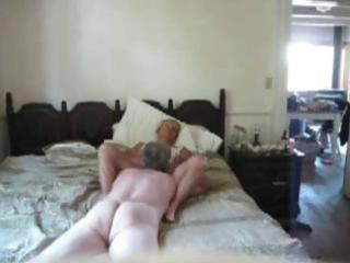 aged couple filming him giving his 81 yo wife an
