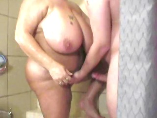 big beautiful woman large titty golden-haired