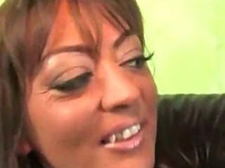 brunette hair milf with blacks
