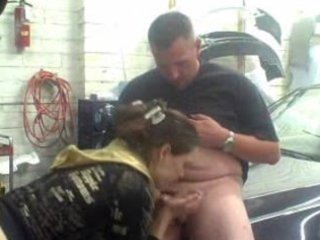 wife gives blow job and acquires a admirable